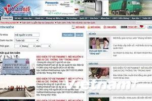 """VietnamNet """"điêu đứng"""" vì hacker tấn công liên tục"""