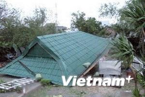 Bão số 11 gây thiệt hại tại các tỉnh miền Trung