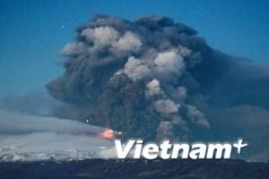 Núi lửa làm tê liệt ngành hàng không châu Âu
