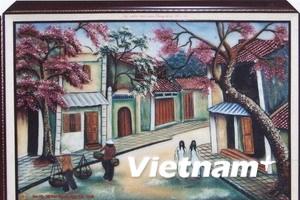 """Bức tranh """"Phố cổ Hà Nội"""" được đấu giá 30.000 USD"""