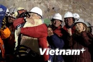 Giải cứu thợ mỏ Chile