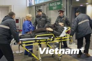Nga trợ cấp cho nạn nhân vụ khủng bố ở sân bay