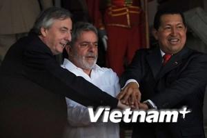 Brazil giúp giảm căng thẳng Venezula và Colombia