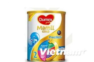 Dumex thu hồi sữa Mamil do nghi ngờ nhiễm khuẩn