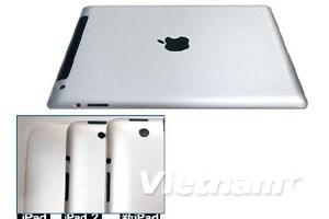 Hình ảnh của mẫu iPad3 lần đầu tiên xuất hiện