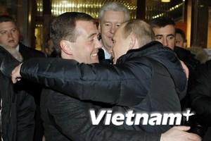 Hàn, Pháp, Syria phản ứng với bầu cử tổng thống Nga