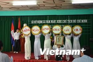 Việt kiều Campuchia kỷ niệm Ngày sinh Chủ tịch HCM