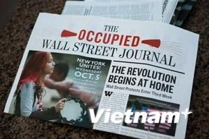 """Phong trào """"Chiếm lấy Phố Wall"""" lan rộng tại Mỹ"""