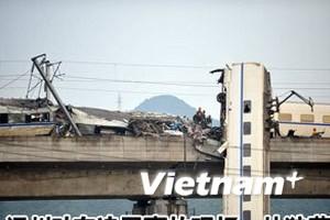 Trung Quốc sa thải 3 quan chức sau vụ tai nạn tàu