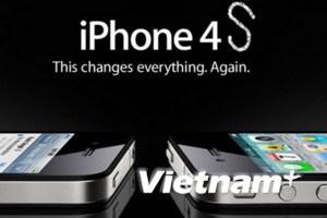 """Mẫu iPhone 4S được sản xuất với số lượng """"khủng"""""""
