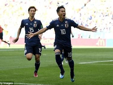 Colombia - Nhật Bản 1-2: 'Dũng sỹ Samurai Xanh' thắng sốc