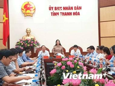 Bộ trưởng Bộ Y tế Nguyễn Thị Kim Tiến thăm và làm việc tại Thanh Hóa