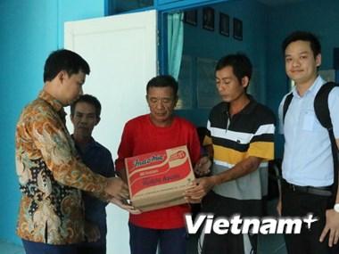 Ngư dân Việt Nam ở Indonesia ngóng chờ ngày về quê hương