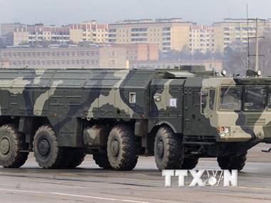 Bộ Quốc phòng Nga công bố video tên lửa đạn đạo Iskander khai hỏa