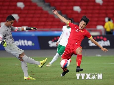 [Photo] Những hình ảnh đẹp trong chiến thắng của U23 Việt Nam