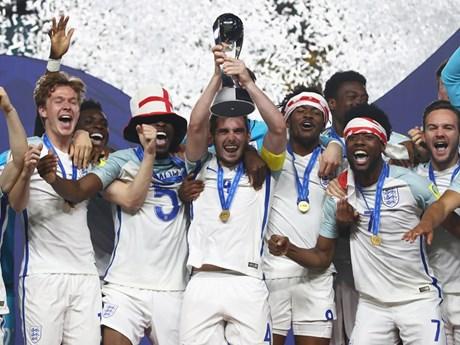 Anh lần đầu tiên giành chức vô địch giải U20 World Cup