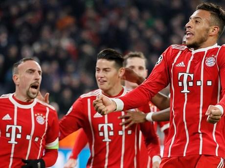 [Photo] Bayern đánh bại PSG, có thể đối mặt M.U ở vòng 1/8