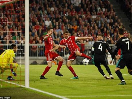 """Những hình ảnh đáng nhớ ở trận """"đại chiến"""" Bayern - Real Madrid"""