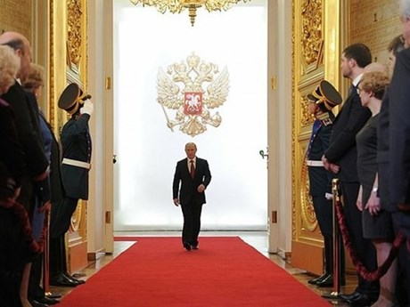 [Photo] Ông Vladimir Putin nhậm chức Tổng thống Nga nhiệm kỳ thứ 4