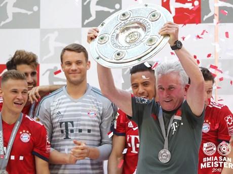 Khoảnh khắc đáng nhớ của Jupp Heynckes trong lần cuối ở Allianz