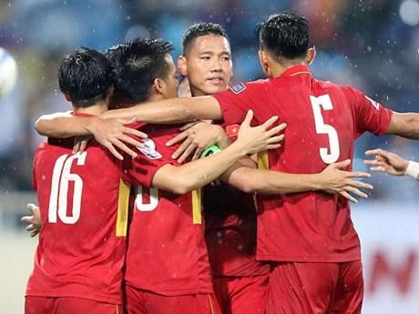 Đội tuyển Việt Nam tiếp tục thăng tiến trên bảng xếp hạng FIFA