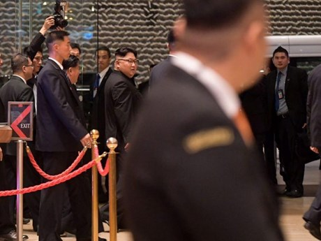[Photo] Nhà lãnh đạo Triều Tiên Kim Jong-un khám phá Singapore