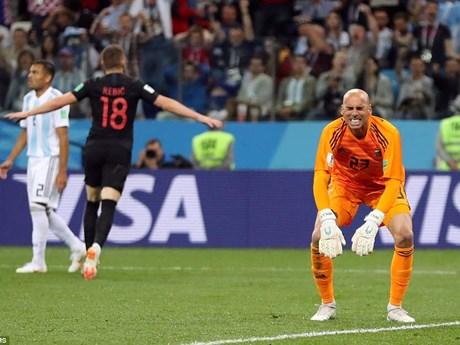 Hình ảnh đáng nhớ trong ngày Argentina thảm bại trước Croatia
