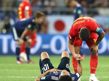 [Photo] Đội tuyển Bỉ ngược dòng 'siêu kịch tính' trước Nhật Bản