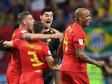 Hình ảnh đáng nhớ trong ngày đội tuyển Bỉ tiễn Brazil về nước
