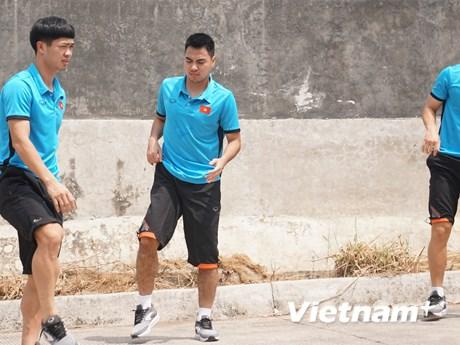 Hình ảnh mới nhất về Olympic Việt Nam trước trận gặp Pakistan