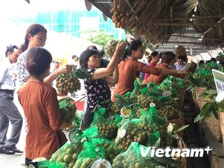 Nhộn nhịp Tuần lễ Nhãn lồng Hưng Yên đầu tiên tại Hà Nội