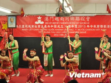 Cộng đồng người Việt Nam tại Macau vui Tết Trung Thu 2015