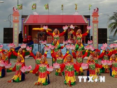 [Photo] Độc đáo các nghi thức trong lễ hội cầu ngư ở Khánh Hòa