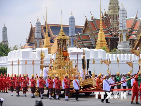 [Photo] Lễ hóa thân Nhà Vua Thái Lan Bhumibol Adulayjadej