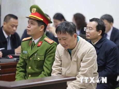 [Photo] Ngày thứ năm phiên tòa xét xử Trịnh Xuân Thanh và đồng phạm