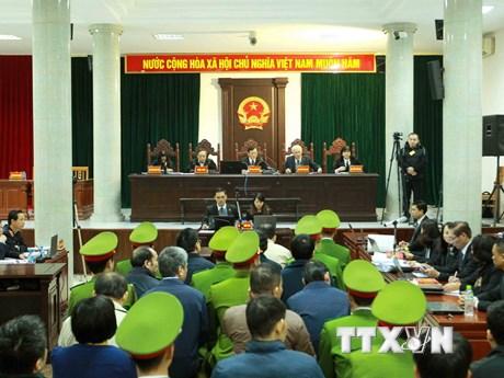 [Photo] Ngày thứ sáu Phiên tòa xét xử Trịnh Xuân Thanh và đồng phạm