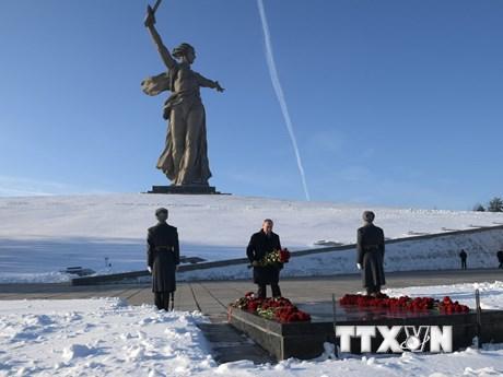 [Photo] Nga kỷ niệm 75 năm chiến thắng lịch sử Stalingrad