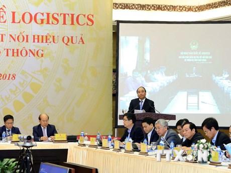 [Photo] Toàn cảnh Hội nghị trực tuyến toàn quốc về logistics