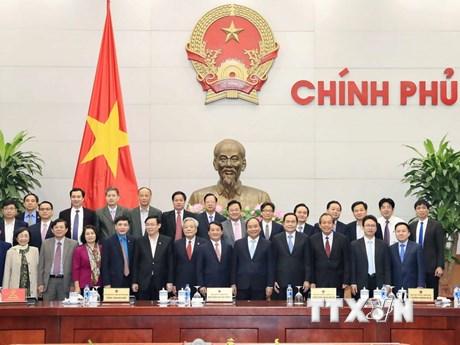 Thủ tướng làm việc với Ủy ban Trung ương Mặt trận Tổ quốc Việt Nam