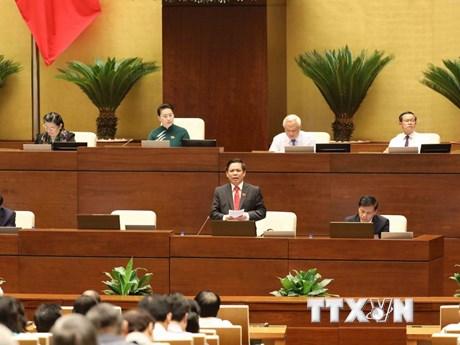 Một số hình ảnh phiên chất vấn và trả lời chất vấn tại Quốc hội
