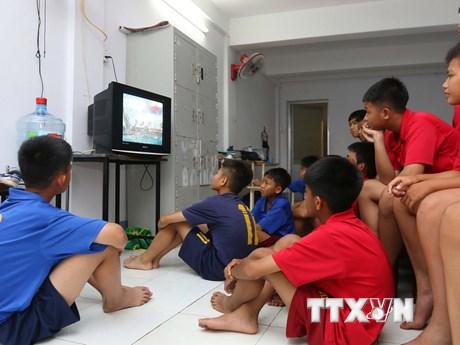 [Photo] Sôi động không khí World Cup tại Thành phố Hồ Chí Minh
