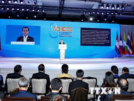 Quang cảnh Hội nghị cấp cao Chiến lược hợp tác kinh tế ACMECS