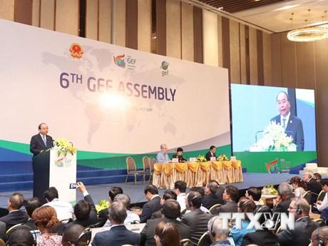 Thủ tướng dự khai mạc kỳ họp Đại hội đồng Quỹ Môi trường toàn cầu