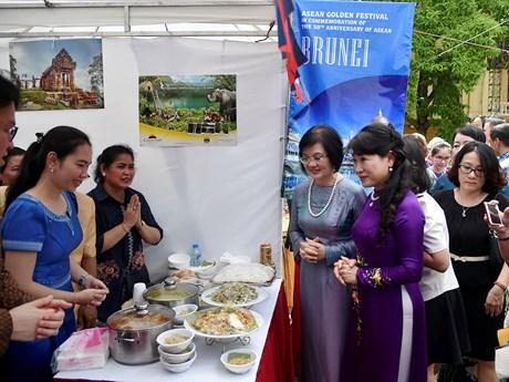 [Photo] Các hoạt động trong Lễ hội Vàng ASEAN tại Hà Nội