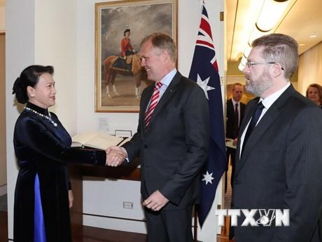 [Photo] Những hoạt động của Chủ tịch Quốc hội tại Australia