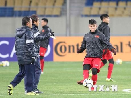 Tuyển thủ U23 Việt Nam tin tưởng sẽ có kết quả tốt trước Hàn Quốc