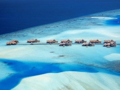 """Cận cảnh khách sạn """"thiên đường"""" Gili Lankanfushi ở Maldives"""