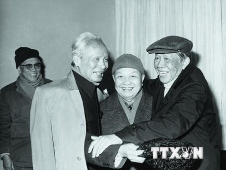 [Photo] Những bức ảnh quý ít được biết đến của Tổng Bí thư Lê Duẩn