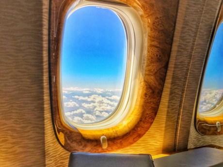 [Photo] Ngồi thử khoang hạng nhất của hãng hàng không Emirates