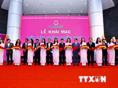 Toàn cảnh lễ khai mạc của Hội báo toàn quốc năm 2017